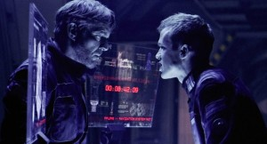 M446 (Left to right.) Dennis Quaid and Cam Gigandet star in Overture Films' Pandorum.